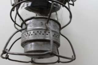 Vintage Antique Metal Adlake CNR Kerosene Oil Lamp Lantern Handle