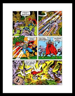Jack Kirby The Mighty Thor #172 Production Art Pg 13