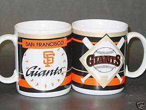 MLB 11oz Ceramic Coffee Cup, San Francisco Giants New