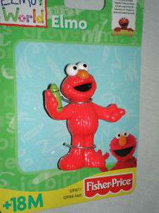 NEW Sesame Street Elmo Action Figure Elmos World