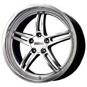 Cray Scorpion Hyper Silver Machined Wheel (19x10.5/5x120