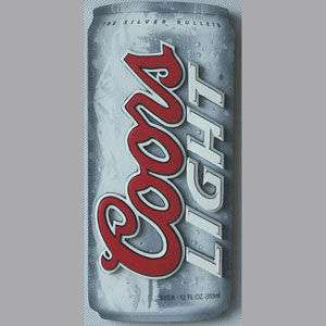 NEW COORS LIGHT DIE CUT CAN WOOD WALL ART GAME ROOM BAR