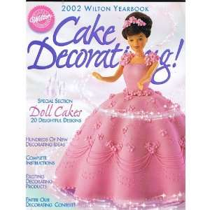 2002 Wilton Cake Decorating Yearbook Books