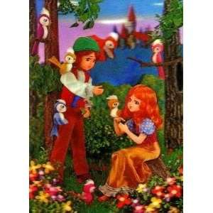 3D Lenticular POSTCARD   ANIMATED COUPLE: Home & Kitchen