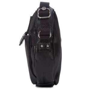 KIPLING LOUISA Shoulder Crossbody Bag Black Coated Cott