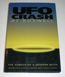 Ufo Crash at Roswell The Genesis of a Modern Myth A349 9781560987512