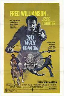 No Way Back Movie Posters From Movie Poster Shop