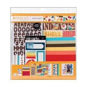New   Scrapbook Page Kit 12X12 by American Crafts Arts