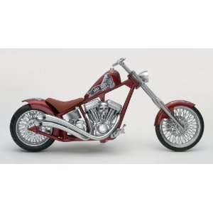 RM Kustom Bonedaddy Custom Chopper Motorcycle (Plastic Toys & Games