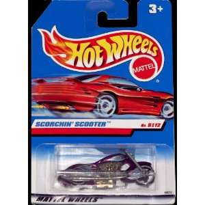 Hot Wheels by Mattel Scorchin Scooter #9 of 12   Purple