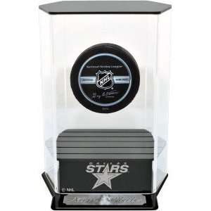 Dallas Stars Floating Hockey Puck Display Case Sports