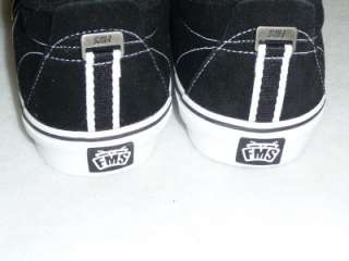 Famous Stars and Straps OG Black Low Top Shoes New NIB