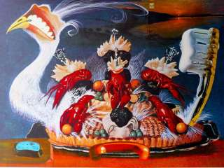 SALVADOR DALI LATIVISME  ART HAND SIGNED LIMITED