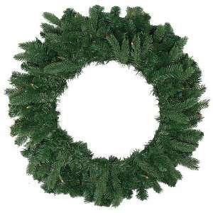 36 Pre lit Natural Frasier Fir Artificial Christmas Wreath   Multi