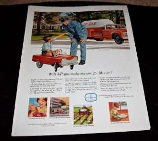 1965 AD LP GAS VINTAGE PEDAL CAR