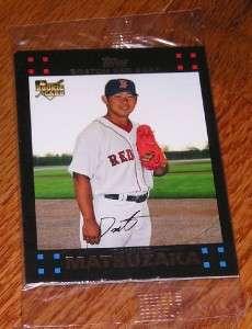 2007 Topps Factory Set Boston Red Sox Bonus Pack
