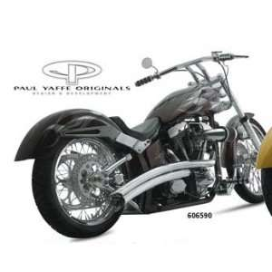 SANTEE PAUL YAFFE SWALLOW PIPES SOFTAIL FOR HARLEY