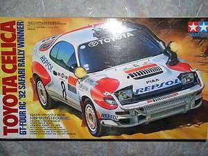Toyota Celica GT4 RC ( Safari 92 rally winner ) Cars Model Kit