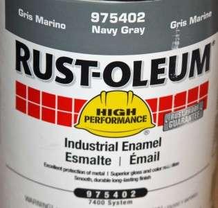 Rustoleum Stops Rust 7738 730 1/2 Pint Hunter Green
