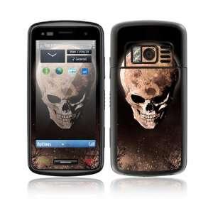 Nokia C6 01 Decal Skin Sticker   Bad Moon Rising