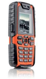 Sonim Land Rover S1 Orange Waterproof Rugged Cell Phone