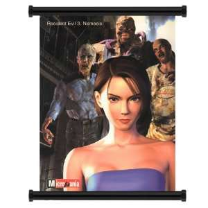 Resident Evil 3 Nemesis Game Fabric Wall Scroll Poster (31