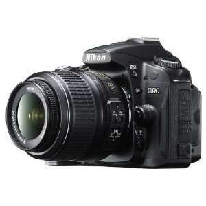 Nikon D90 12.3MP DX Format CMOS Digital SLR Camera with 18