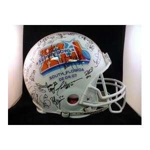 Indianapolis Colts(2007) Autographed Helmet   Autographed