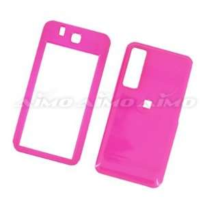 SAMSUNG BEHOLD T919 HOT PINK CASE COVER A Cell Phones