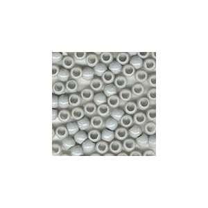Plastic Mini Pony Beads 5x7mm Gray Op, 500pcs: Office