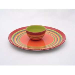 Certified International Hot Tamale Chip & Dip Set Kitchen & Dining