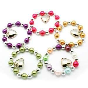 DIY Jewelry Making 1 pc Glass Pearl Beads Bracelets, with