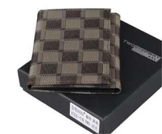 Oxford Wallets Bi Fold Purse Card Slots Bag High Quality ECB01