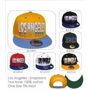 Los Angeles Monster Drip Cap Snap Back Hat