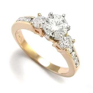 14k Rose Gold Diamond Engagement Ring Semi Mount R1240 Free Worldwide