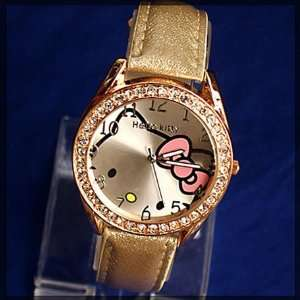 Miss Peggys~ Hello Kitty Quartz Movement Watch and a Bling Hello