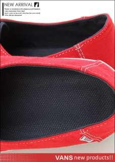 Brand New Vans E Street (Doheny) Red/Blue Shoes #V205