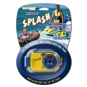 Splash Waterproof 5MP Digital Camera w/ Color Screen