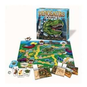 Dinosaurs Extinct? Board Game: Toys & Games