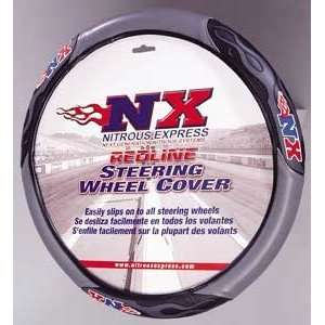 NX Racing Steering Wheel Cover   Red Automotive