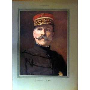 Portrait General Dubail Colour Color French Print 1915