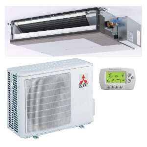 com 12,000 Btu/h 16 Seer Mitsubishi Single Zone Mini Split Heat Pump