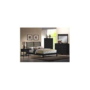 Dio Queen Black Bedroom Set: Home & Kitchen