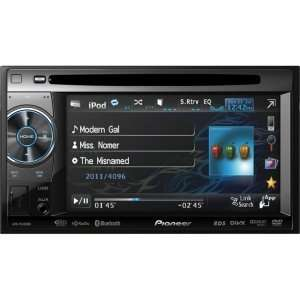 Pioneer AVH P3400BH 2 DIN Multimedia DVD Receiver with 5.8