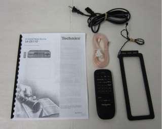 TECHNICS SA EX110 200 WATT STEREO RECEIVER w/REMOTE EXC