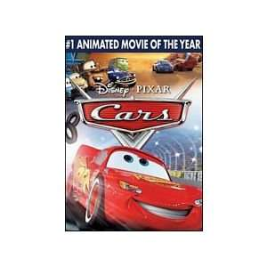 Disney Pixars Cars the Movie: Full Screen Edition DVD