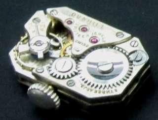 RARE ART DECO STERLING SILVER DUNHILL cigarette LIGHTER WATCH CLOCK
