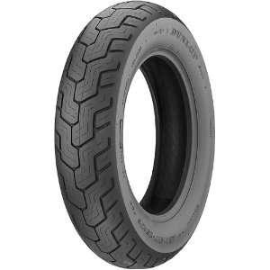 Dunlop D404 Cruiser Motorcycle Tire w/ Free B&F Heart Sticker Bundle