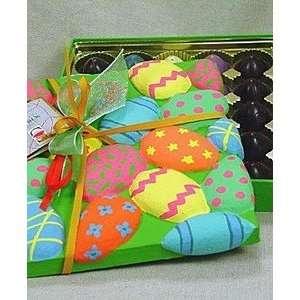 Large Easer Egg Box w/ 25 Mini ruffles Home & Kichen
