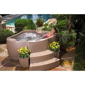 Maker Fantasy 2 Person Portable Spa Hot Tub Patio, Lawn & Garden